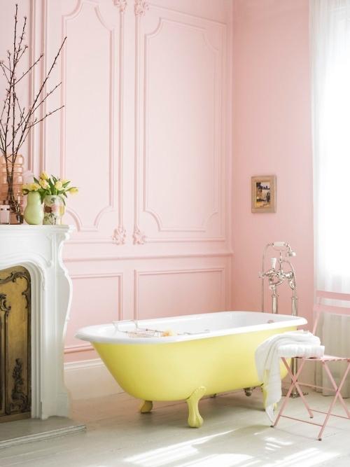 Trend Alert: The Pink Bathroom