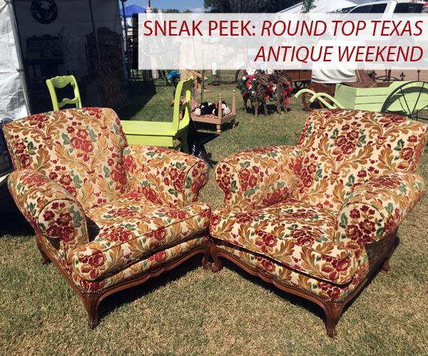 Sneak Peek: Round Top Texas Antique Weekend