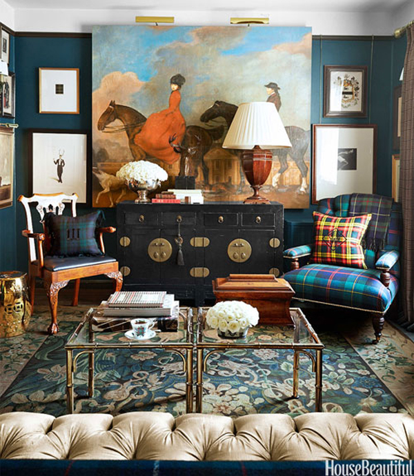 House Tour: Scot Meacham Wood's Masculine Apartment