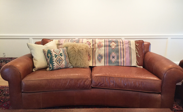 3 ways to breath life into an old couch the dandy liar. Black Bedroom Furniture Sets. Home Design Ideas