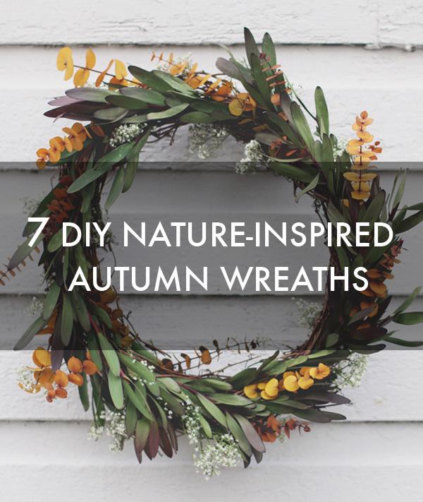 7 DIY Nature-Inspired Autumn Wreaths