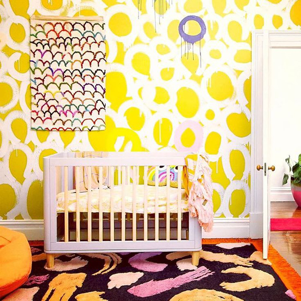 Pinning Lately: 10 Eclectic Kids Rooms