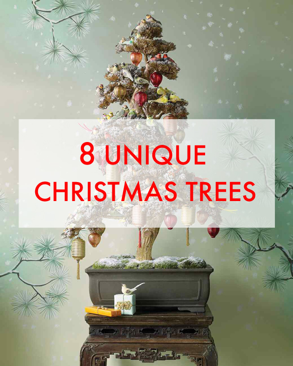 Pinning Lately: 8 Unique Christmas Trees