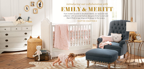 Emily + Meritt x Pottery Barn Baby