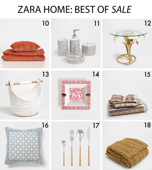 Zara Home: Best of Sale