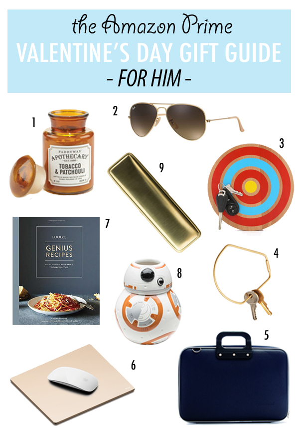 Amazon Prime: Valentine's Gift Guide for Him