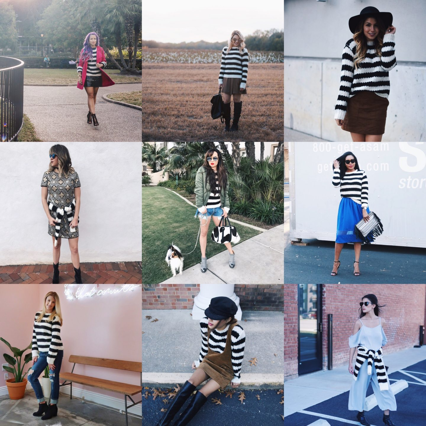 One Nation Under Chic: Under $50 Striped Sweater