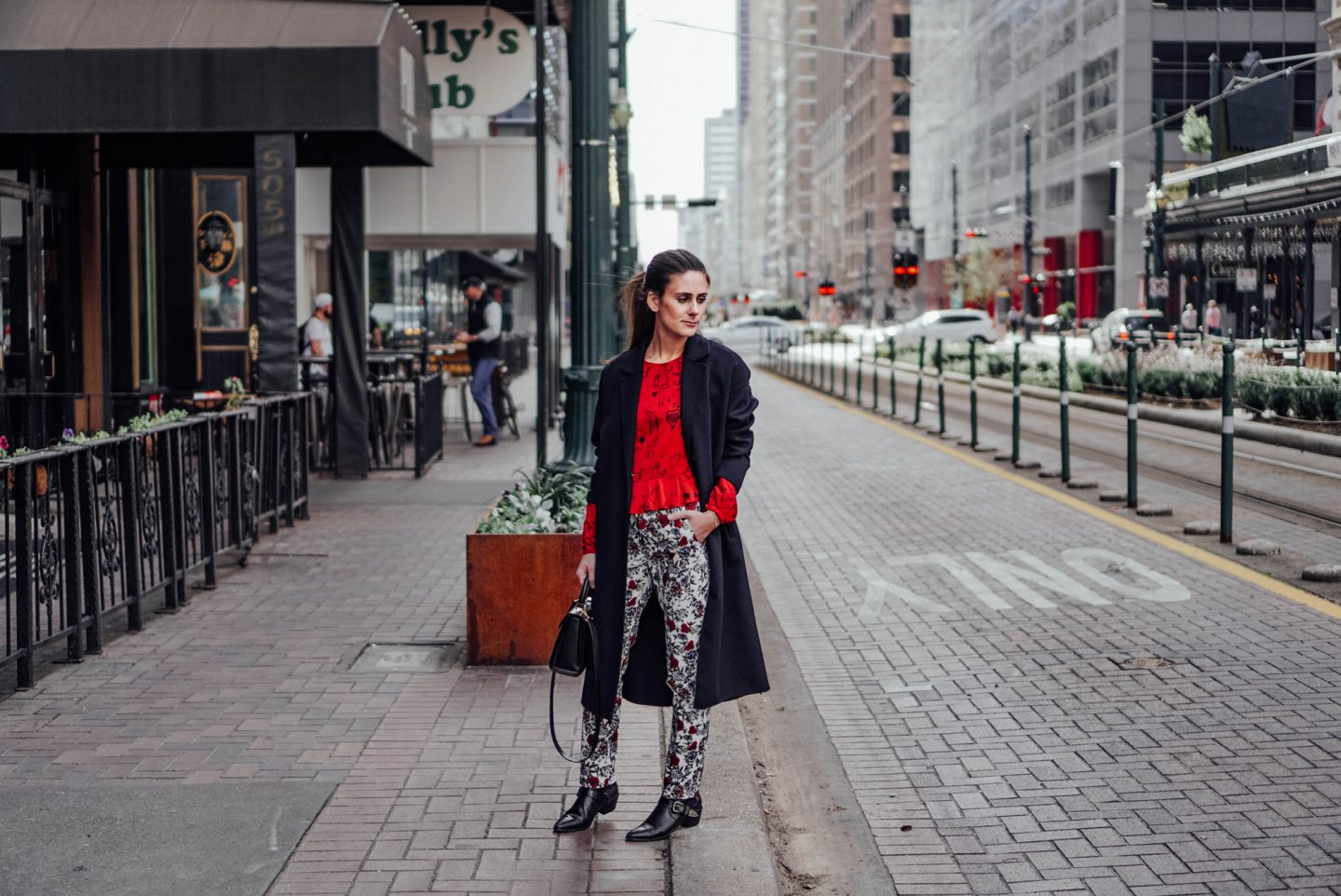 My Favorite picks from the Zara, like this longline coat and printed floral pants, are on TheDandyLiar.com.
