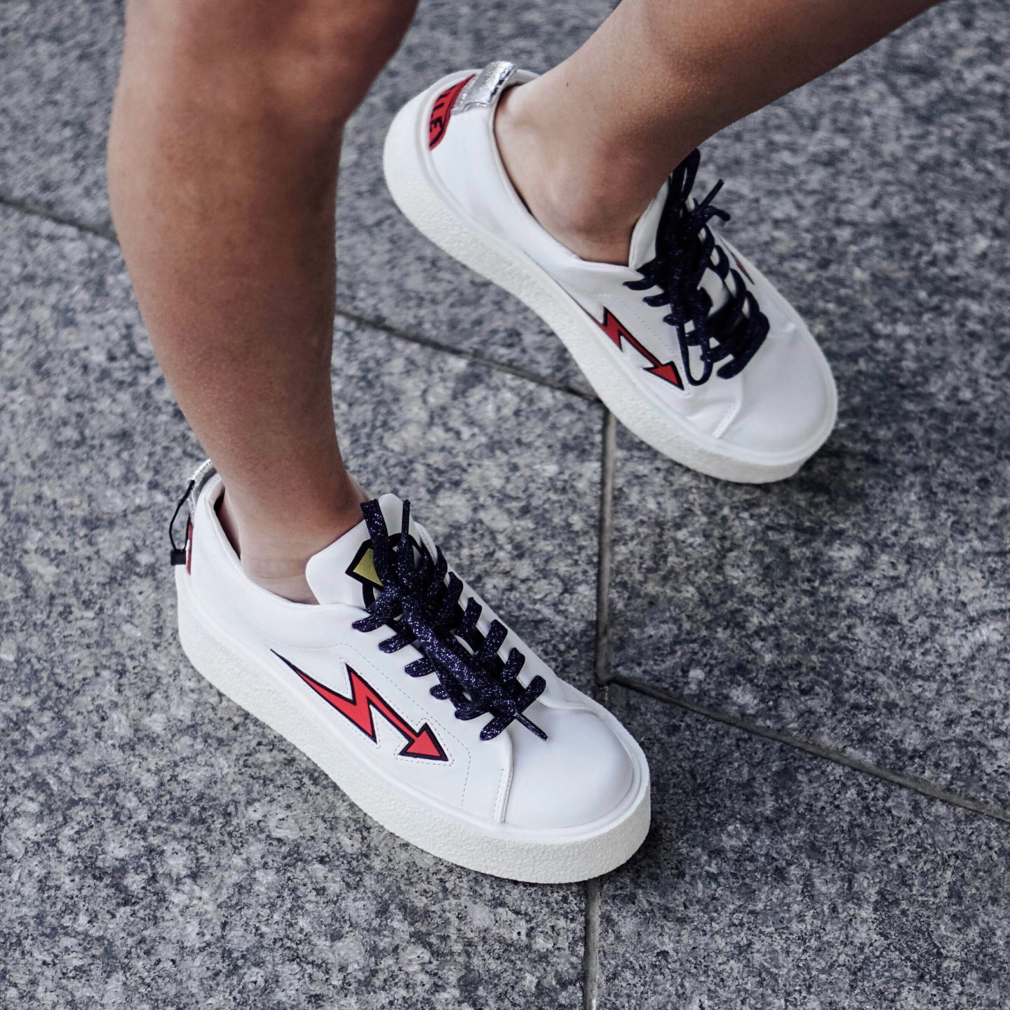 My Favorite picks from the Zara, like these graphic sneakers, are on TheDandyLiar.com.