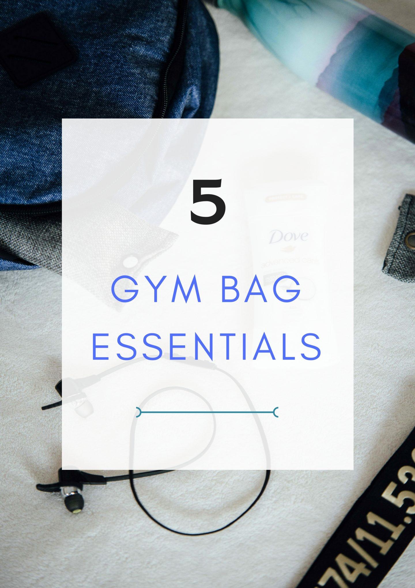 I'm giving you my top 5 gym bag essentials on TheDandyLiar.com, including Dove's Advanced Care Deodorant.