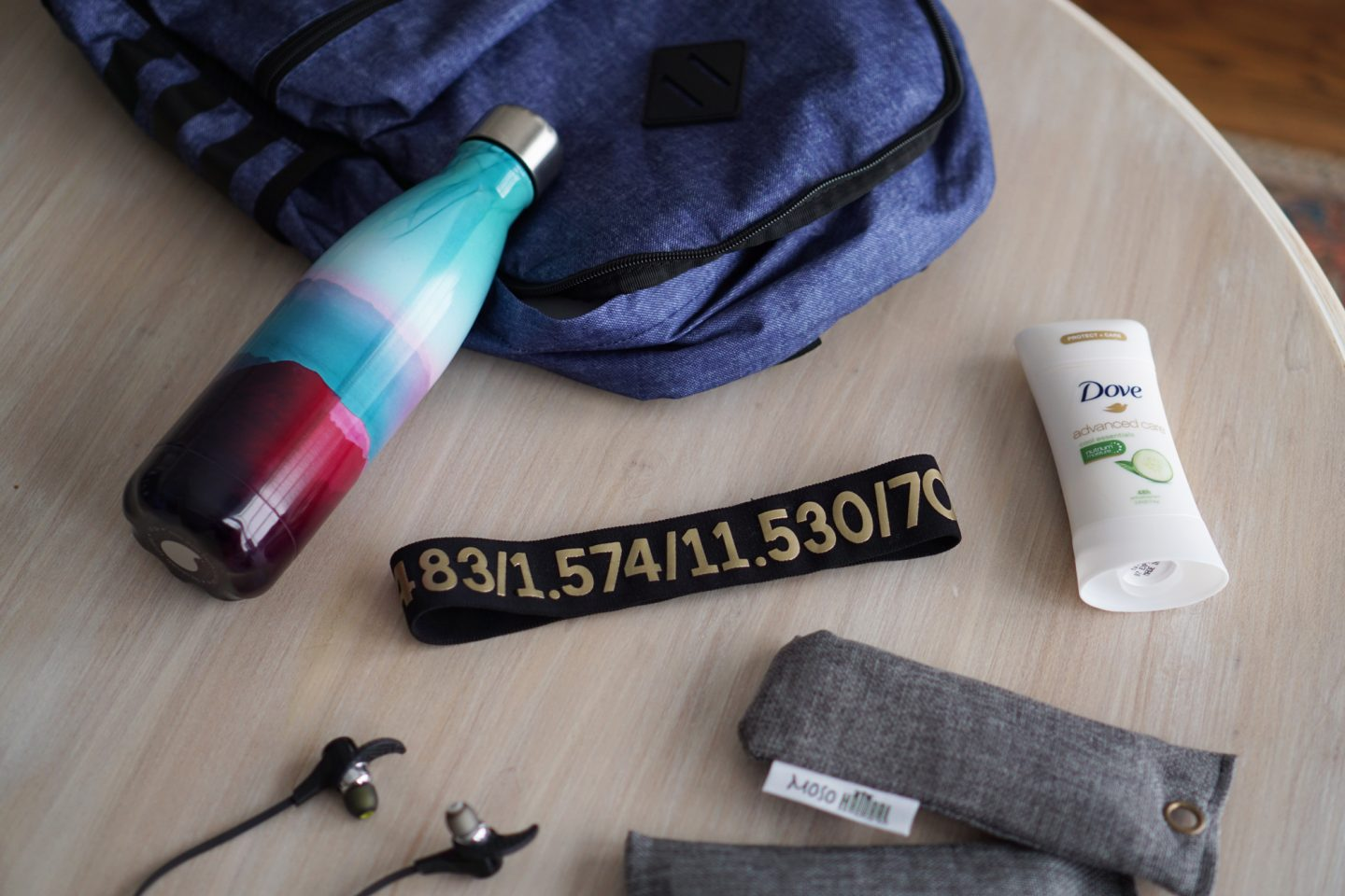 I'm giving you my top 5 gym bag essentials on TheDandyLiar.com, including Dove's Advanced Care Deodorant.