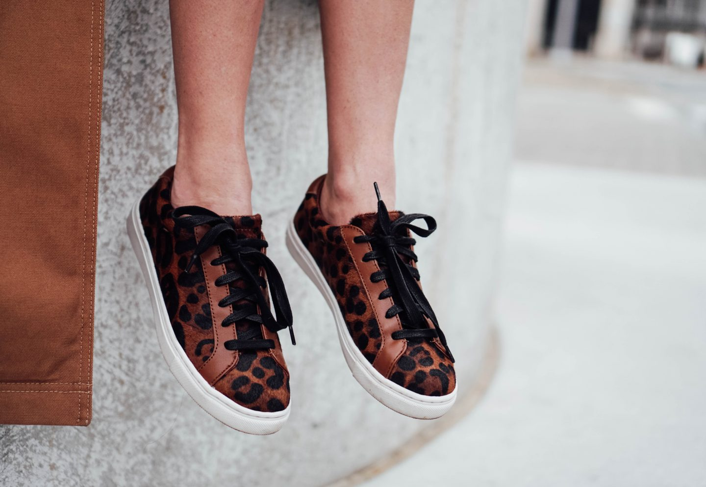 I am partnering with Marks and Spencer on TheDandyLiar.com to update my shoe wardrobe with some fresh new styles, like these gorgeous Leopard Print Lace Up Trainers.