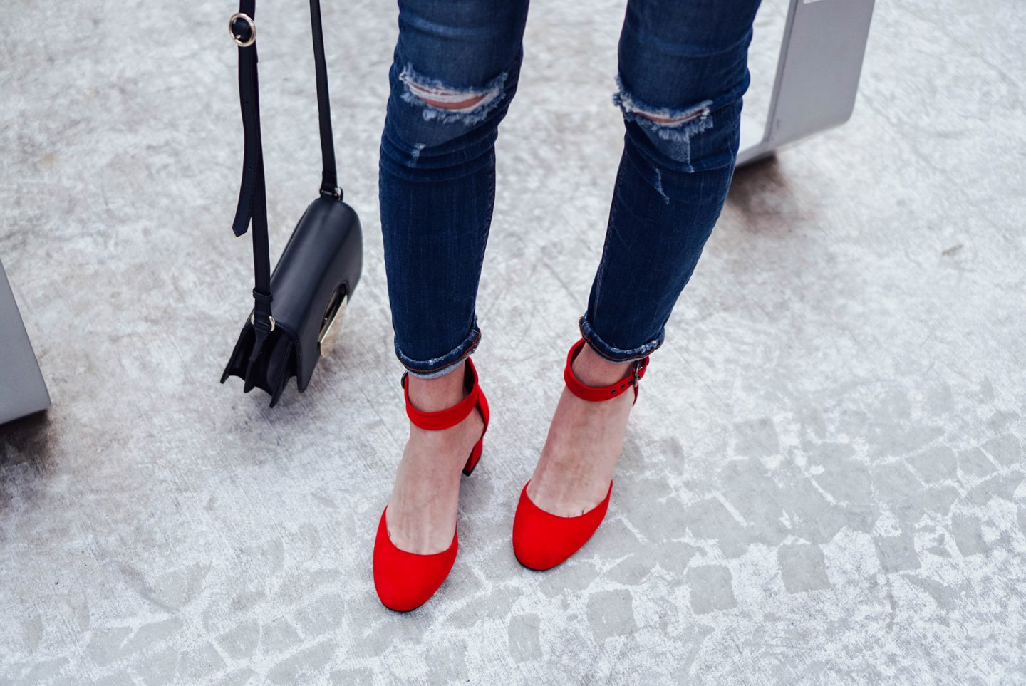 I am partnering with Marks and Spencer on TheDandyLiar.com to update my shoe wardrobe with some fresh new styles, like these gorgeous Red Block Heel Court Shoes.