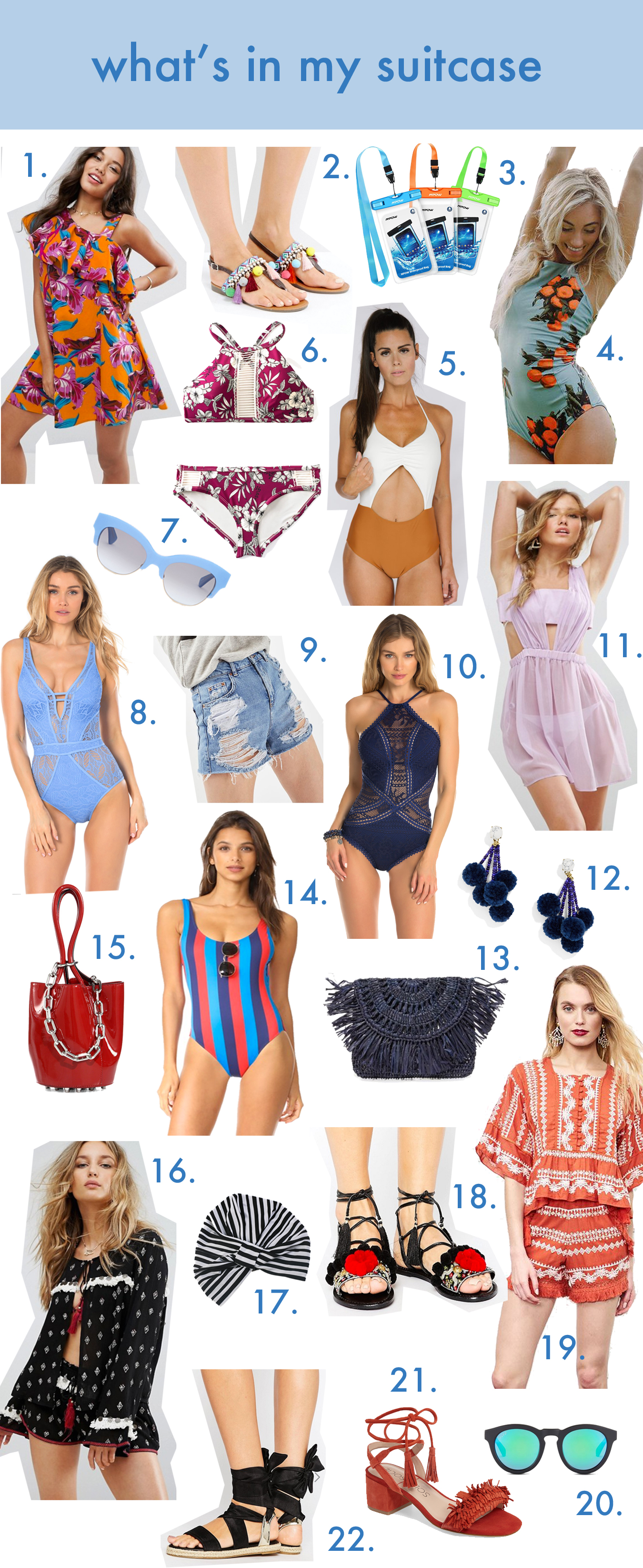 I have rounded up my Beach Essentials Packing List for you over on TheDandyLiar.com, as I get ready to head to Florida for a week long vacation. From coverups, to swimsuits, to beach bags, to sunscreen, I have you covered!