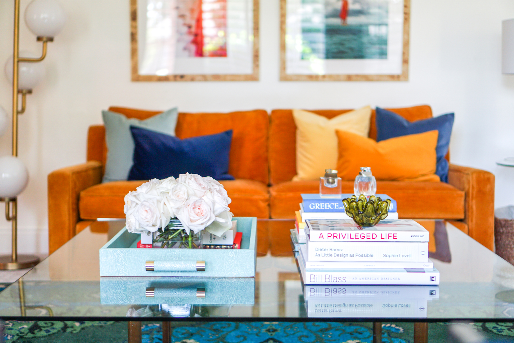 Colorfully Modern Formal Living Room - The Dandy Liar ...