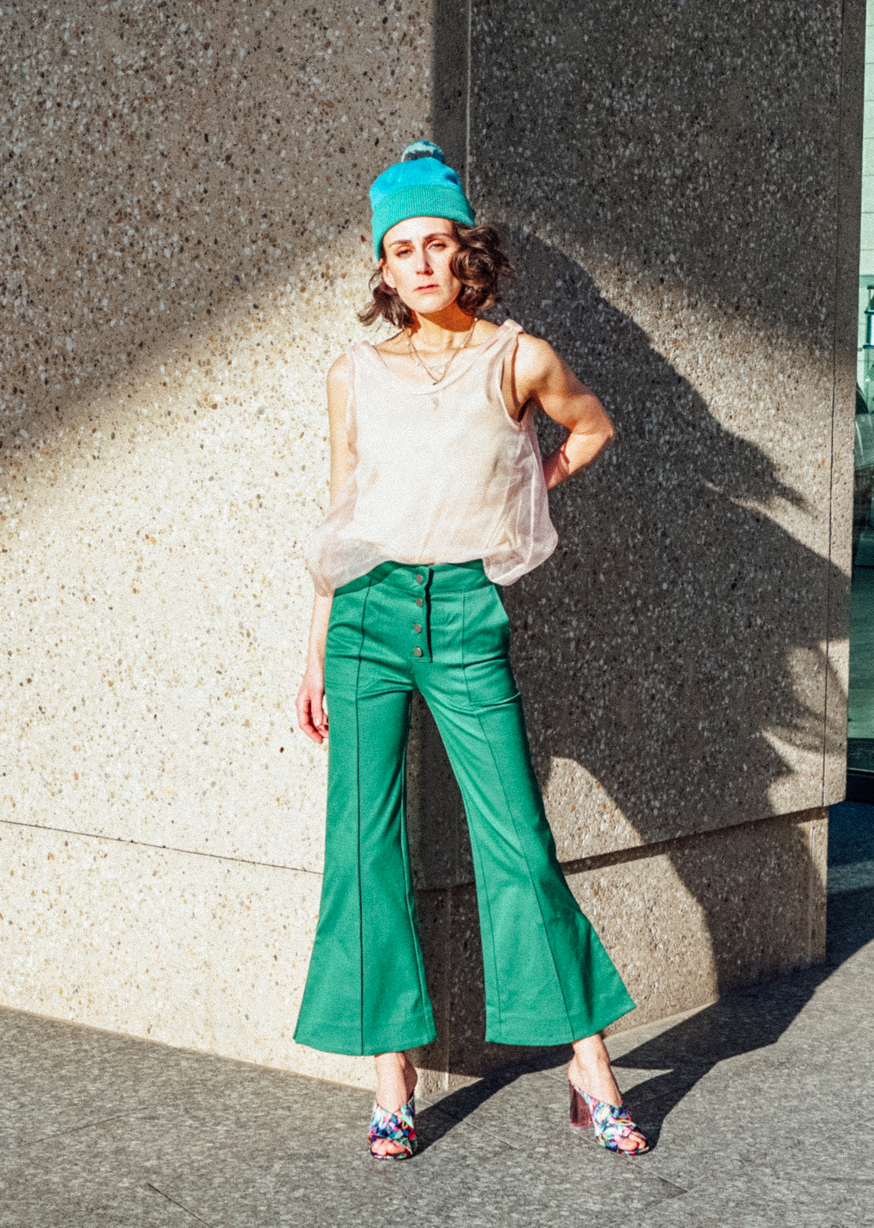 Fancy green pants The Dandy Liar H&M