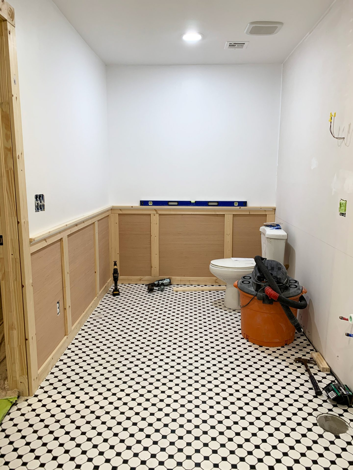 ORC Week 4: Tile, Wainscoting + Paint