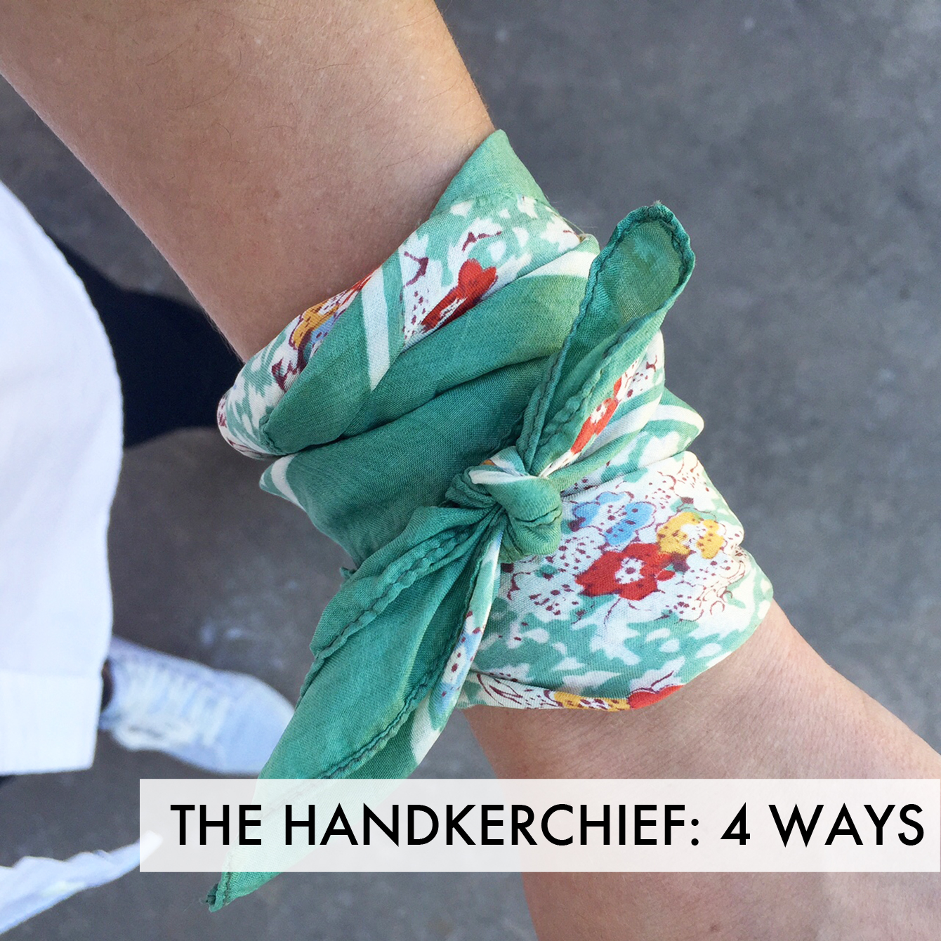 How To Style Your Handkerchief: 4 Ways
