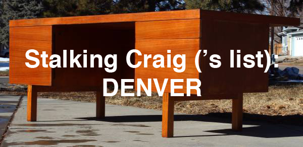 Stalking Craig ('s List): Denver